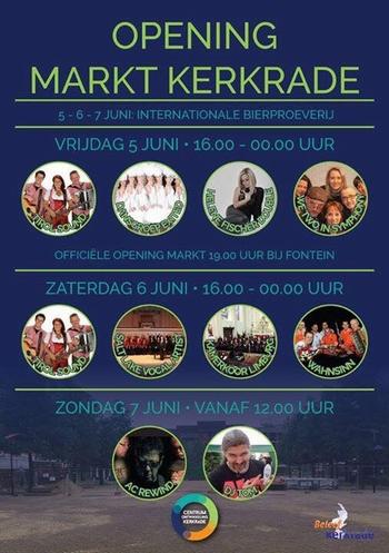 2015-06 Opening nieuwe markt Kerkrade 1