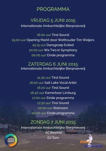 2015-06 Opening nieuwe markt Kerkrade 2