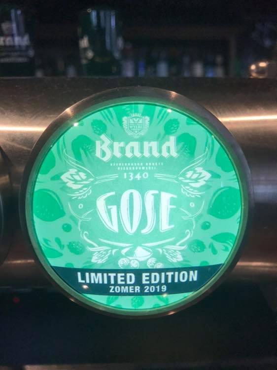 Brand Gose bier