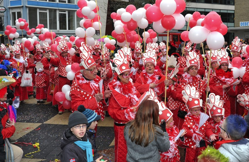 Carnaval optocht Kerkrade