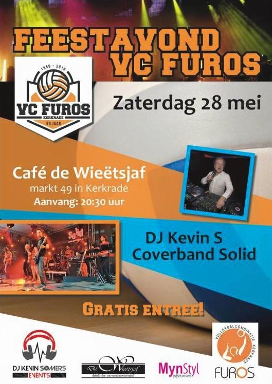 Feestavond VC Furos in De Wieetsjaf Kerkrade