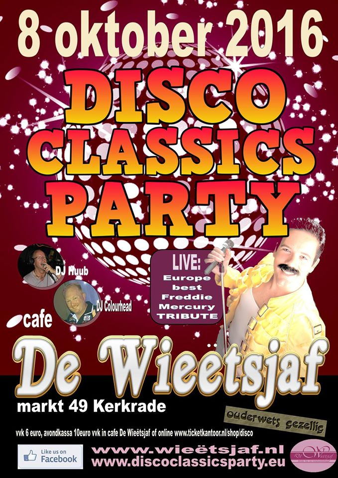 Disco Classics Party 2016