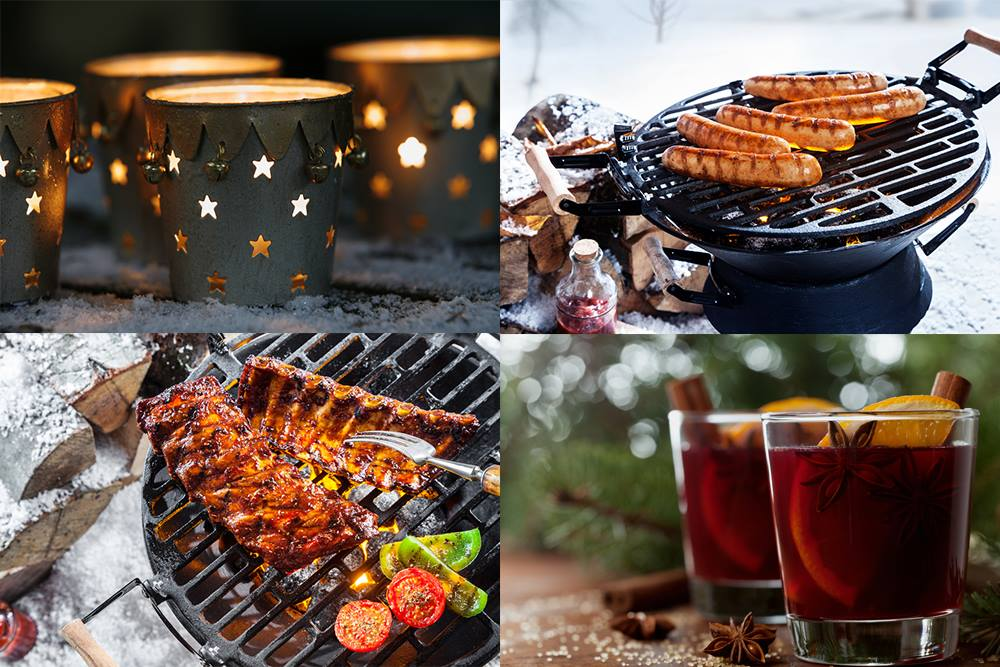 kerstbarbecue